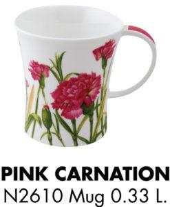 Pink-carnation-Mug