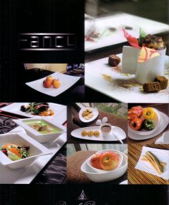 "Royal Porcelain ""FANCY"" Collection is an assortment of exquisite tableware items selected to help your showcase and to serve all your need in tableware setting. Exciting, innovative, and provocative shapes are offered here for your selection and for every occasion that matter to your most whether it will be for your home, your restaurant, or any of your hospitality establishment."