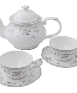 TEA SET AUDREY PLATINUM