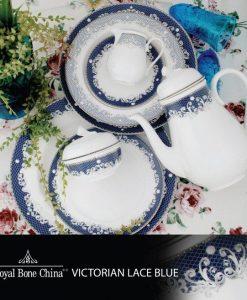 VICTORIAN LACE BLUE
