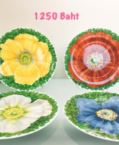 SET OF 4 PCS. PLATE 21 CM.